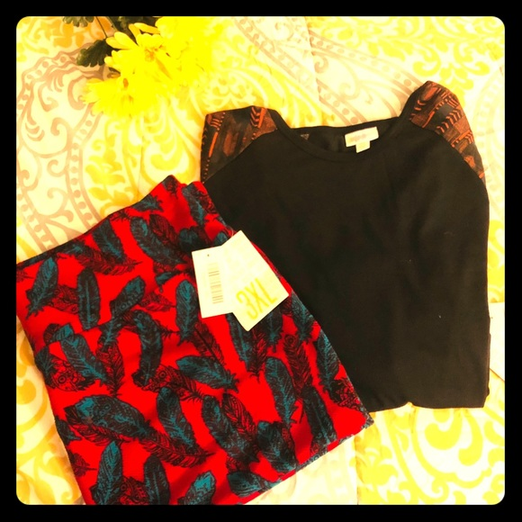 Clothing, Shoes & Accessories Skirts Lularoe Cassie 3xl Nwt Long Performance Life